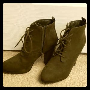 Forever 21 Army Green Boots